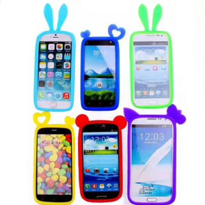 Universal Silicone Bumper Case for Mobile Phones pictures & photos
