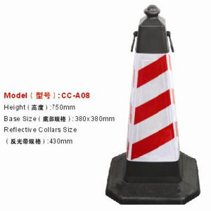 Colored Reflective PVC Traffic Cone Road Safety Product pictures & photos