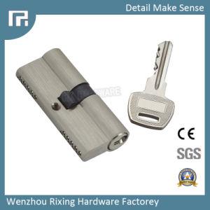 Door Lock Cylinde Double Open Blade Keyway Brass Security Rx-09 pictures & photos