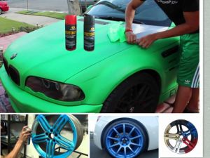 Car Peelable Rubber Paint, Strippable/Removable Rubber Paint Aerosol Spray pictures & photos