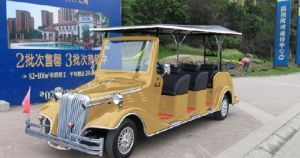 8 Seats Electric Shuttle Bus pictures & photos