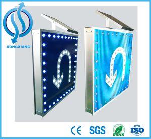 Aluminium LED Flashing Alto Solar Road Traffic Sign pictures & photos