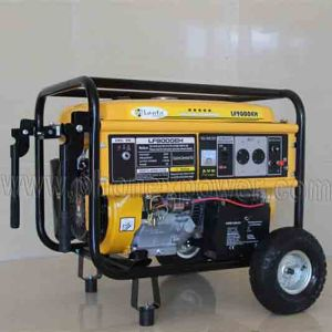 100% Copper Coil 6000 Watts 6kw 6kVA Power Electric Gasoline Generator pictures & photos
