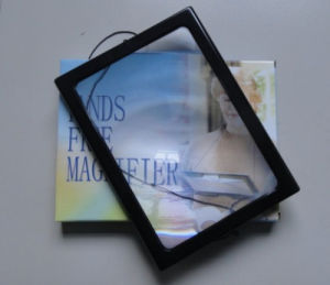 A4 Sheet Magnifier Magnifying with Clear Border (HW-300B) pictures & photos