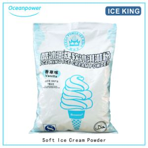Soft Ice Cream Powder (Vanilla/Strawberry/Chocolate/Sweet Potato) (Ice King) pictures & photos