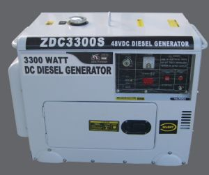 3kw Silent Type DC Diesel Generators (ZDC3300S) pictures & photos