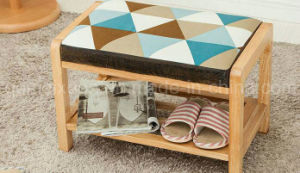 Solid Wooden Livingroom Footstool (M-X2648) pictures & photos