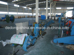 Copper Wires & Steel Wires Tubular Stranding Machine