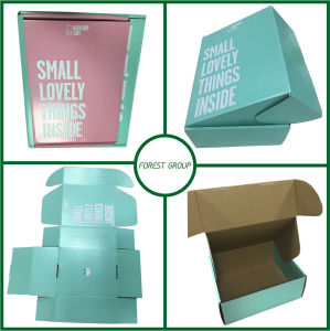 Custom Color Corrugated Box Manufacturer (FOREST PACKING 001) pictures & photos