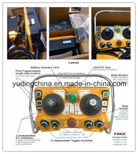 F24-60 Dual Joystick Remote Controller for Tower Crane, Concrete Pump pictures & photos