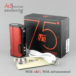 a&D Wholesale Original Hcigar Vt75 with 26650 and 18650 Battery Box Mod pictures & photos
