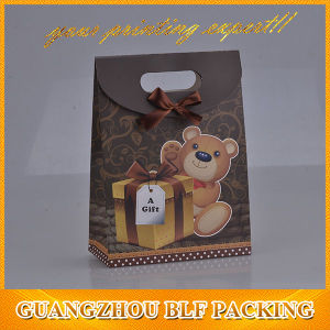 Lovely Paper Kids Paper Gift Packaging Bag pictures & photos