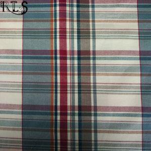 100% Cotton Flannel Woven Yarn Dyed Fabric for Shirts/Dress Rls21-5FL