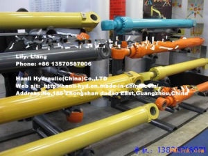 Hydraulic Volvo Movable Arm Oil Cylinder for Hyundai Komatsu Excavator pictures & photos