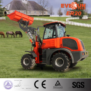 CE Approved Front End Loader Er20 with CE Issued by TUV pictures & photos