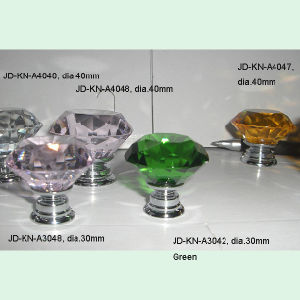 Small Green Diamond Crystal Kids Drawer Knobs pictures & photos