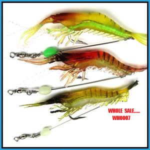 Wholesale Wh0007 6g Popular Shrimp Soft Lure Fishing Tackle pictures & photos