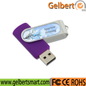 Swivel 64GB USB Flash Drive with USB Disk Logo pictures & photos
