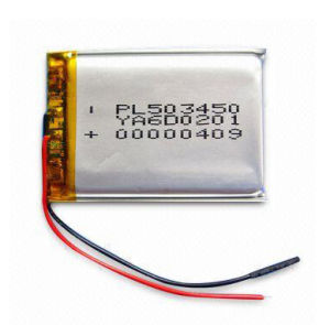 Rechargeable power supply Lithium Polymer Battery 260mAh 202030 pictures & photos