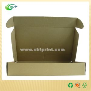 Black Packaging Box with Kraft Paper (CKT-CB-421) pictures & photos