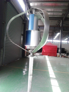 Less 25dB Vertical Axis Wind Mill with 1000W Maglev Generator pictures & photos