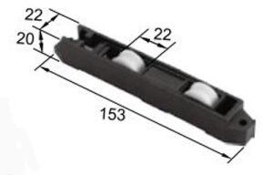New Best Roller R8208 for Aluminum Door & Window pictures & photos