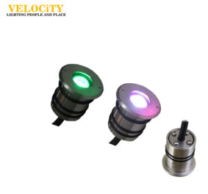 1 PCS Wall Mounted Stainless Steel RGB LED Swimming Pool Underwater Lights pictures & photos