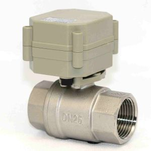 1 Inch 3V/5V/12V/24V Electric Stainless Steel Water Valve Motorized Flow Valve for Dringking Water (T25-S2-A) pictures & photos