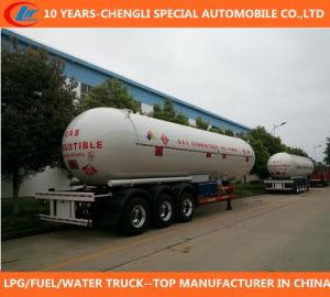 50cbm 3-Axle LPG Tank Semi Trailer pictures & photos
