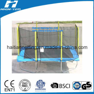 Rectangle Trampoline with Safety Net pictures & photos