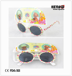 New Design Fashion Sunglasses with Nice Patterned for Kids. Kc517 pictures & photos