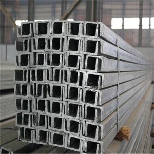 China Tianjin Q235 Structural Steel Section Hot Rolled U Channel pictures & photos