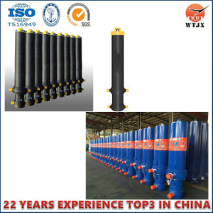 Front Mount Telescopic Hydraulic Cylinder for JAC Dump Trucks pictures & photos