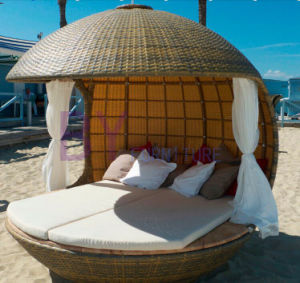 Outdoor Beach Swimming Pool Wicker Rattan Hanging Bed pictures & photos