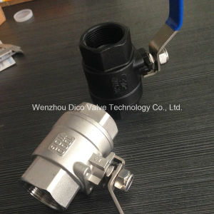 Ts Wcb Heavy Type 2 Pieces Ball Valve pictures & photos