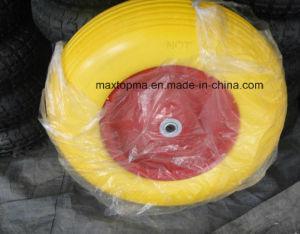400-8 Solid PU Foam Wheel Barrow Wheel pictures & photos
