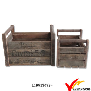 Fashionable French Antique Wooden Crate pictures & photos