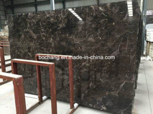 Polished Newly Domestic Dark Emperador Marble Slab pictures & photos