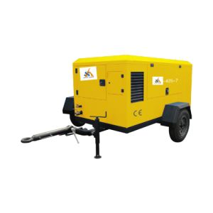 Diesel Mobile Air Compressor pictures & photos