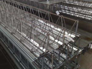 Concrete Steel Rebar Truss and Lattice Girder for Construction with Decking Sheet (Removable) pictures & photos