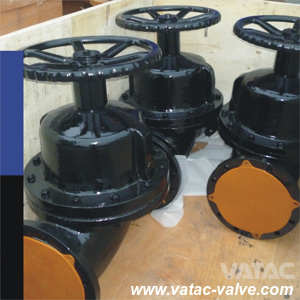 Pneumatic&Electric Ggg40 Ductile Iron Pn16 Flanged Diaphragm Valve pictures & photos