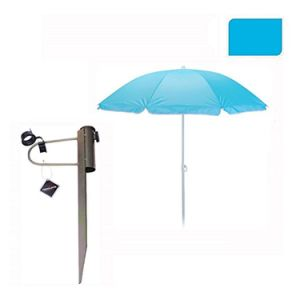 Holiday Protection 150cm Beach Parasol (W/ Ground Stake)