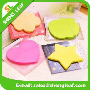 Removable Sticky Note with Logo Print and Different Shape (SLF-PI011) pictures & photos