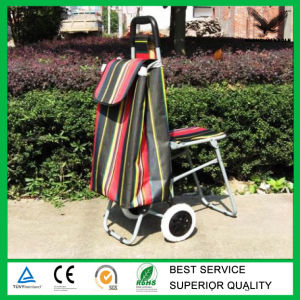 Collapsible Shopping Trolley with Seat pictures & photos