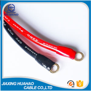 0AWG Copper Conductor Car Battery Cable with Blue PVC pictures & photos