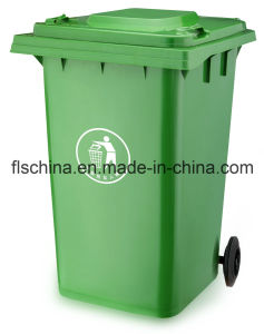 Outdoor Litter Bin Trash Bin with Plastic Material Open Top Lids pictures & photos