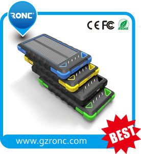 Factory Sale 8000mAh Solar Mobile Charger pictures & photos