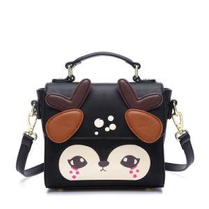 Cartoon Deer Satchel Bag and Girls Designer Handbag