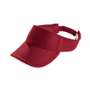 Blank Red Visor Cap (JRV049) pictures & photos