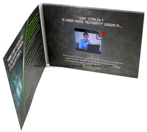 Customized Christmas Promotion Gift 2.8′′ LCD Display Video Brochure (VC-028) pictures & photos